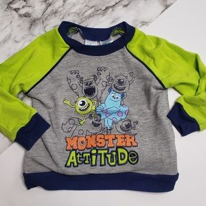 Disney Baby Monster's Inc Mike Sully Top